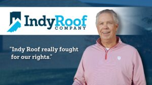 Indy Roof Company serves customers in the Indianapolis area. We make sure our customers are satisfied with our roof repairs and roof replacements.